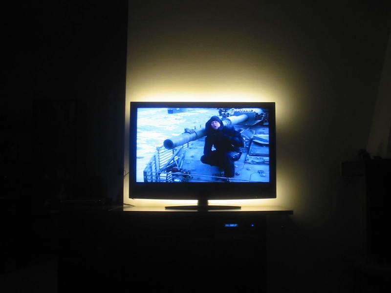 Strisce led dietro tv cpfitalia forum
