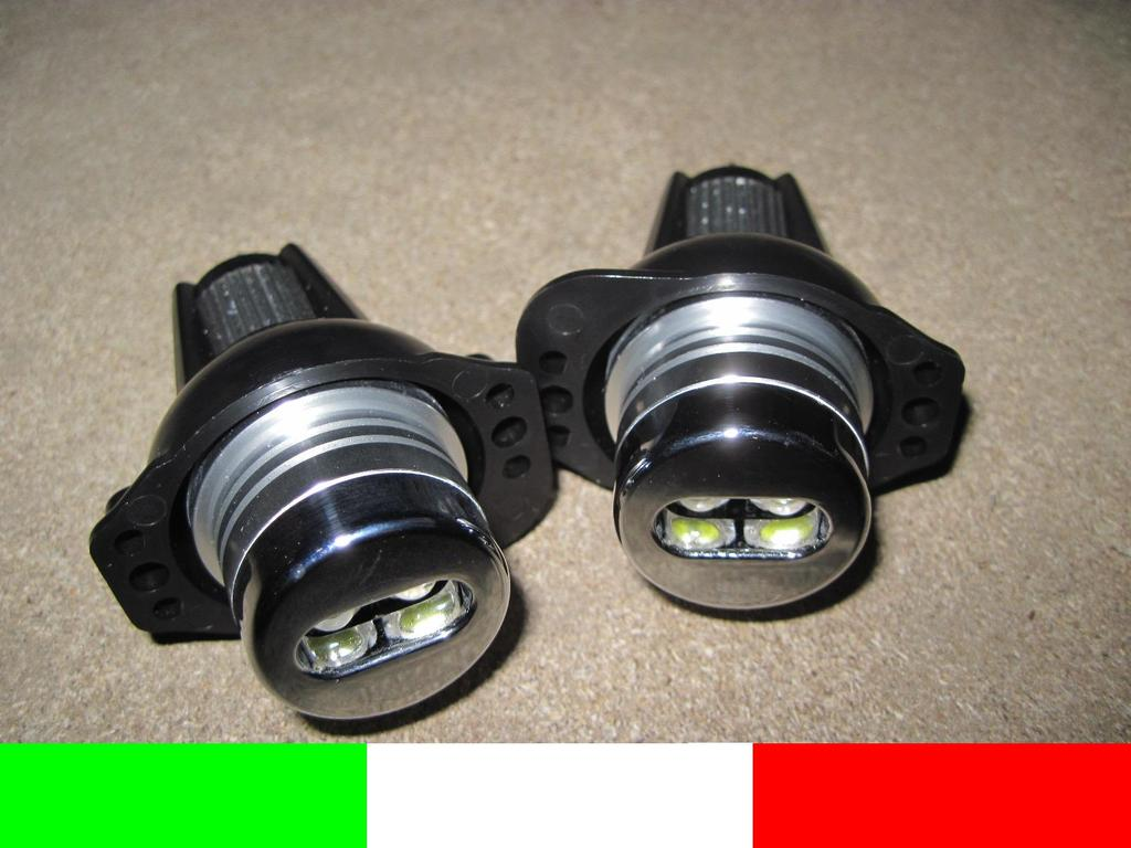 2 LAMPADE ANGEL EYES LED BMW SERIE 3 E90 E91 6000K   eBay -> Lampadari Con Lampadine A Led