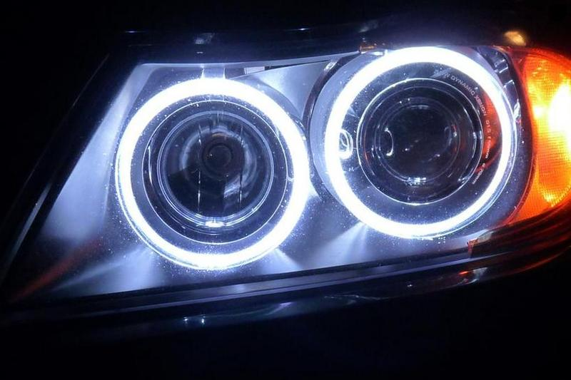 2 LAMPADE H8 MOLLA ANGEL EYES LED BMW X5 E70   eBay -> Lampade A Led Quali Comprare