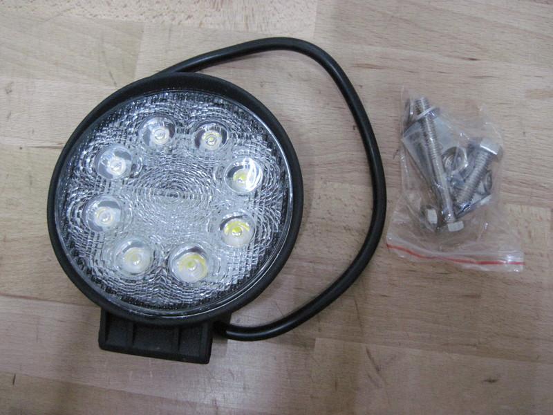 2 PADELLE LUCI FARI LED RALLY PER AUTO PRECISIONLED 24W COME 200W ALOGENA  eBay