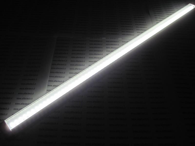 Barra led 50cm bianco freddo con sensore apertura anta accensione automatica ebay - Neon sopra pensili cucina ...