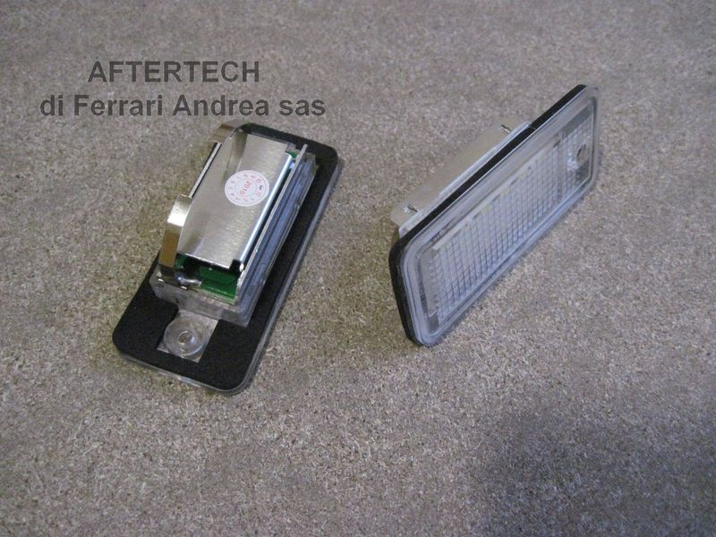 2 luci targa led kit completo audi a3 sportback g1e9 ebay for Piccole luci a led