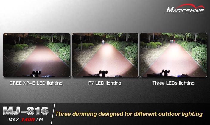 Illuminazione led per mtb nitecore br lamelancette luci