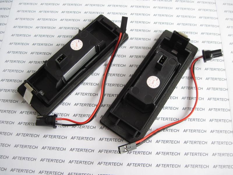 BMW SERIE 1 E81 E87 E87N Z4 E85 E86 LUCI LAMPADE TARGA LED NO ERRORE CANBUS 1...