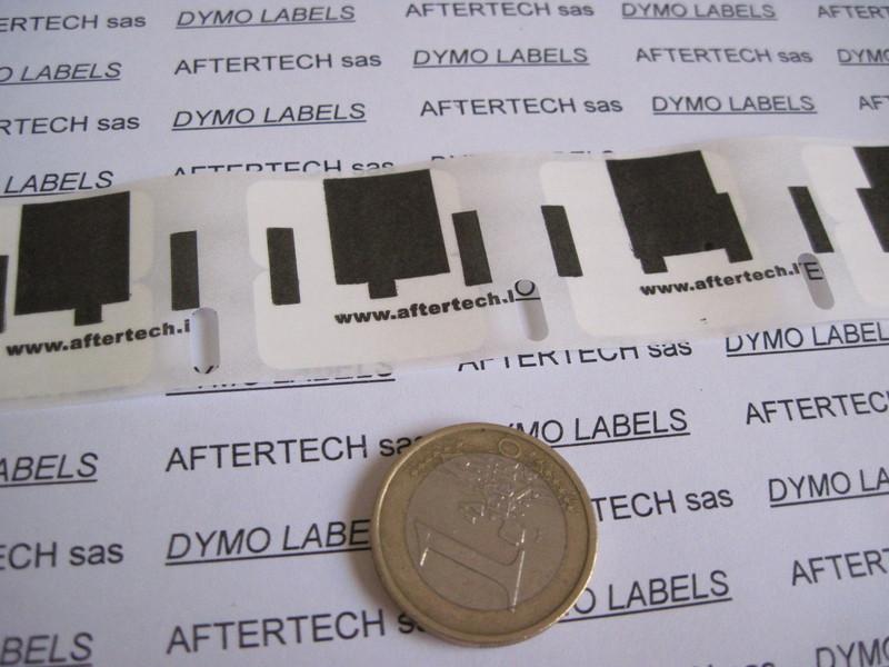 50x 11353 ROTOLI ETICHETTE DYMO LABELWRITER 400 450 24x12 mm