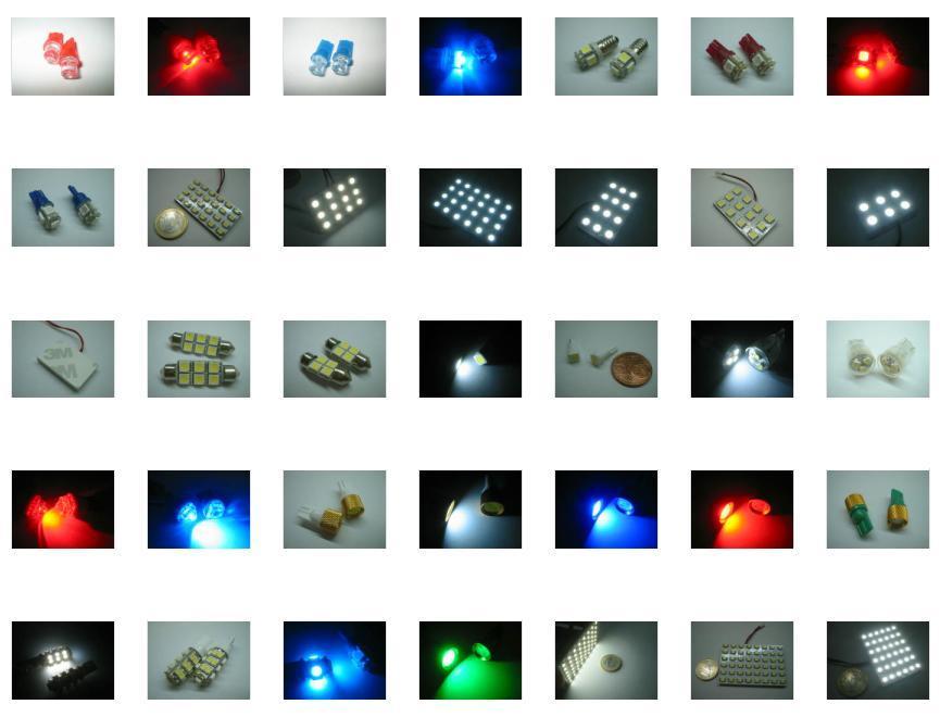 COPPIA LAMPADE 5 LED CANBUS NO ERRORE CDB T10 W5W L