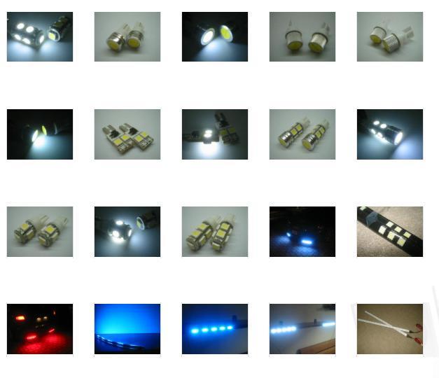 2 LAMPADINE ANELLI LED BMW SERIE 5 E39 E60 E61 6000K