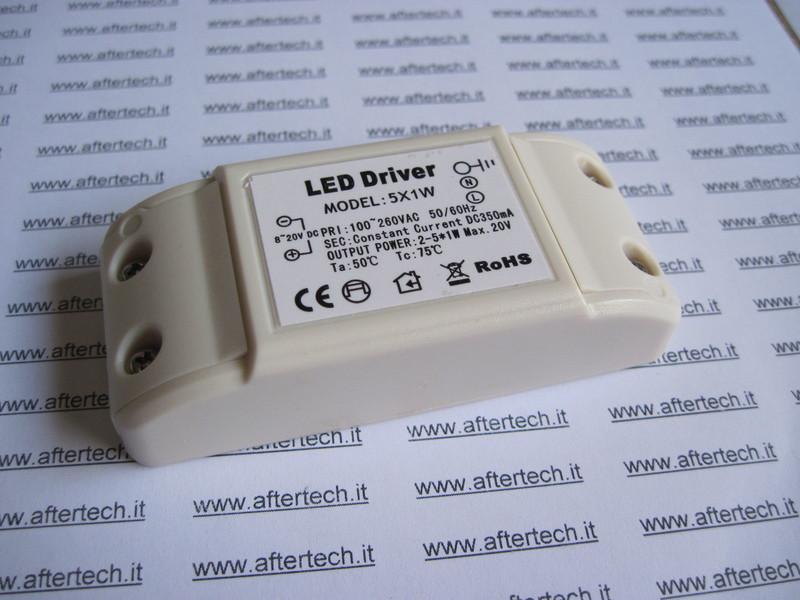 DRIVER LED 2-4 x 1w 350mA COSTANTE INPUT 100~260V B4E1