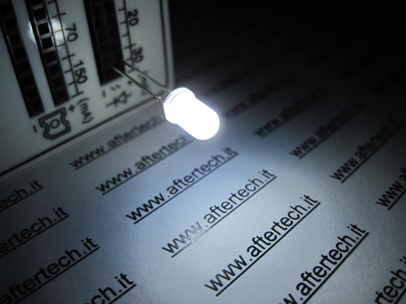 FOGGY 20 DIODI LED LEDS GIALLI 3mm LUCE DIFFUSA DIFFUSED
