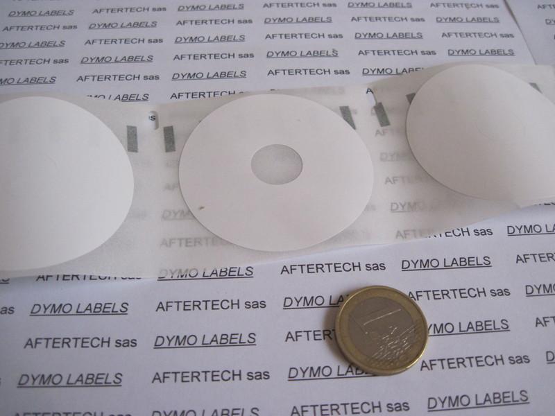 50x 14681 ROTOLI ETICHETTE DYMO LABELWRITER 400 450 per CD DVD