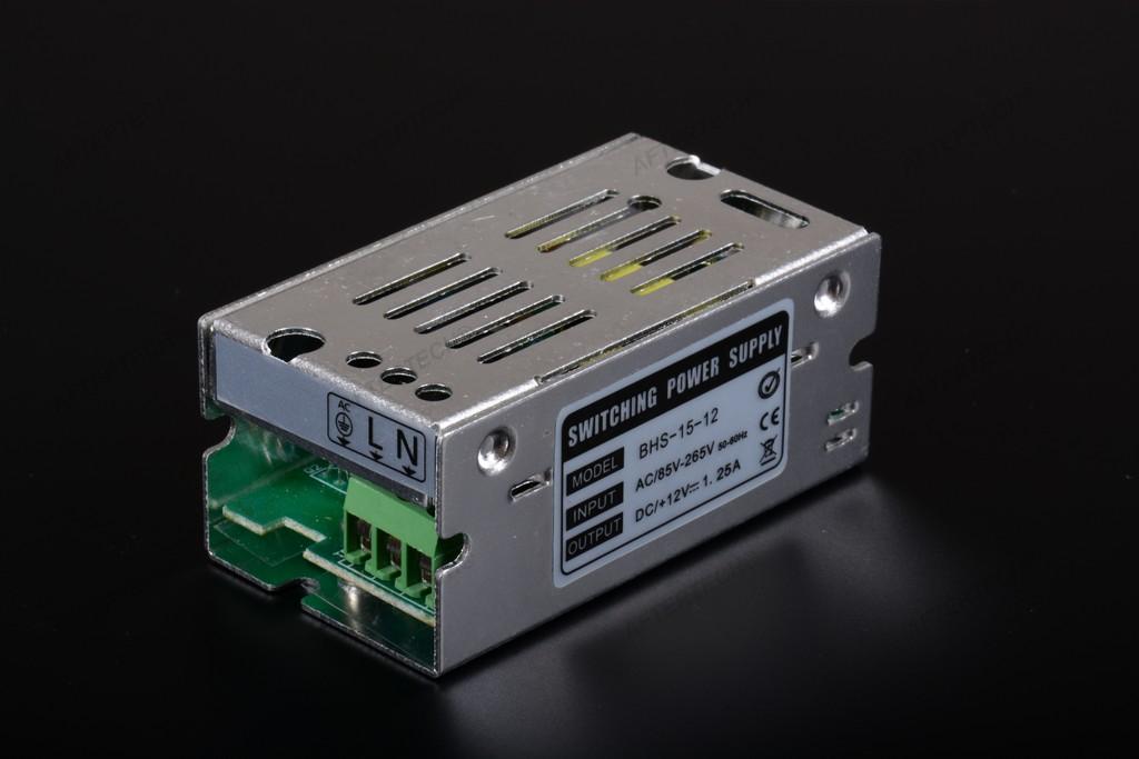 Transformateur d 39 alimentation stabilis e pour led input - Transformateur 220v 12v pour lampe halogene ...