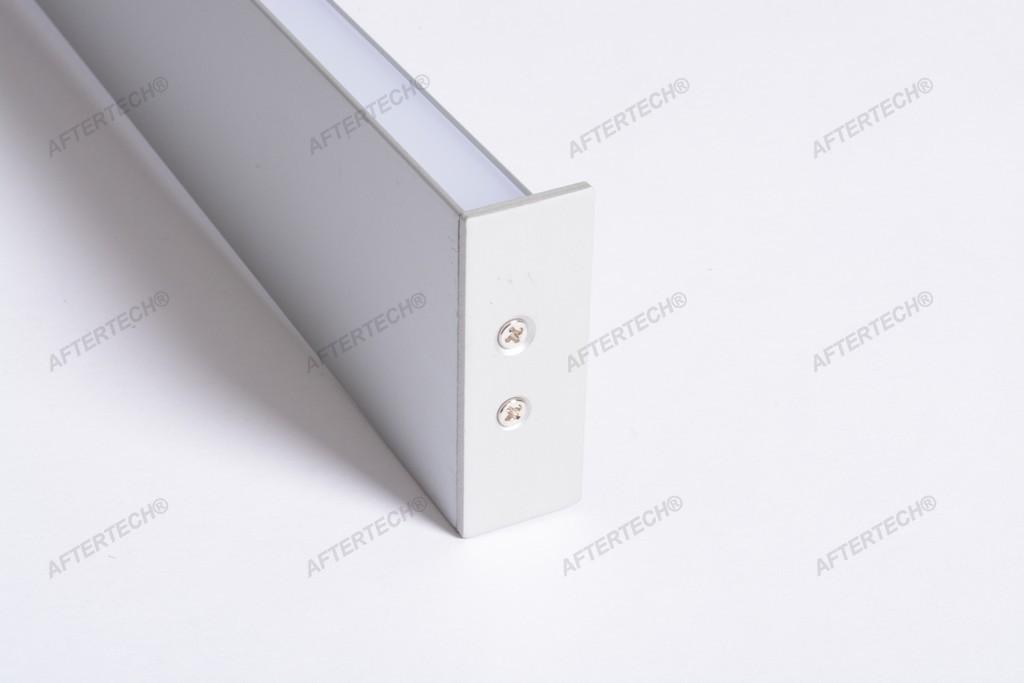 4020 Profil Aluminium ab Wandlampe 1M für Streifen Strip LED Hebel Rigida 1mt