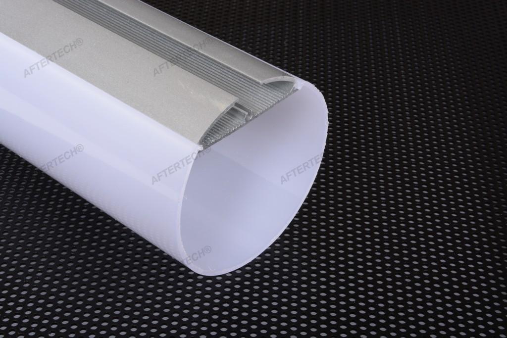 2m 6060b profil runder rohr gro aluminium streifen strip led 2mt h ngend ebay. Black Bedroom Furniture Sets. Home Design Ideas